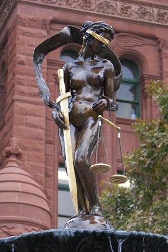 Lady Justice - Bexar County Courthouse