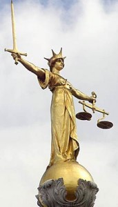 Old Bailey - Lady Justice